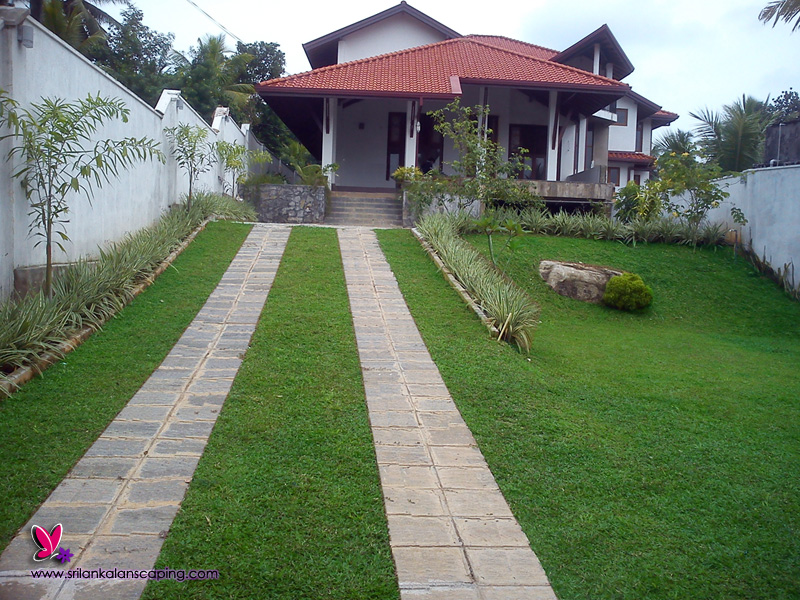Landscaping home landscape design sri lanka for Home lawn design